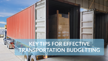 Key tips for effective transportation budgetting